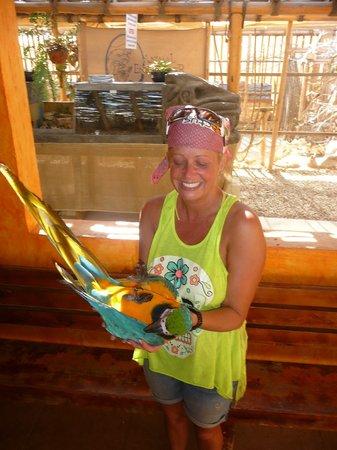 Cactus ATV Tours: Parrots at Cactus ATV