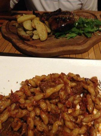 Ristorante Zi'Ntonio: our meals - not so good