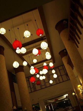 Chiang Mai Gate Hotel: lanterns
