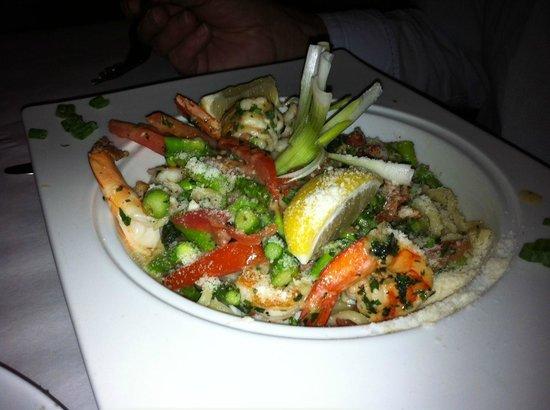 Pattigeorge's Restaurant : Shrimp Linguini