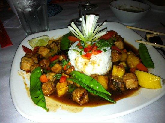 Crispy Pork Stir Fry - Picture of Pattigeorge's Restaurant, Longboat