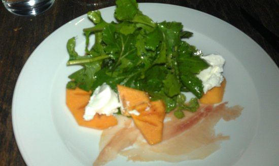 Beast : arugula Salad excellent