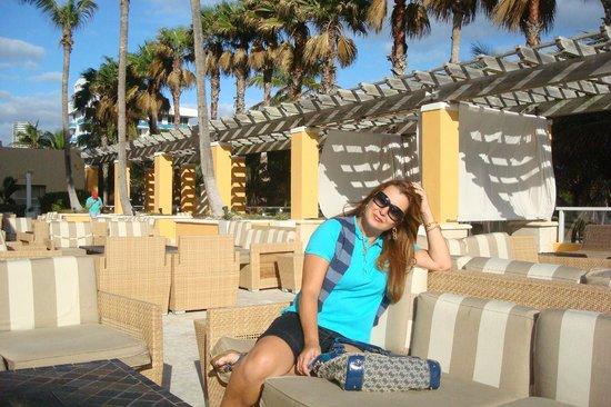 Marriott Stanton South Beach : Area recreativa do Hotel