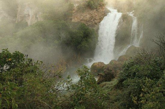 Ruidera, Spain: El Hundimiento waterfall