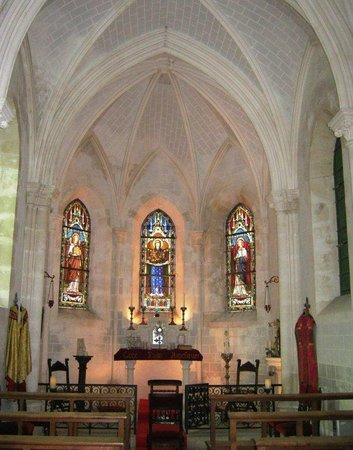 Chapel at Chateau de Rancay