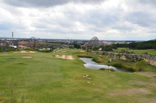 Resort Course at La Cantera: Six Flags from No. 7 Tee