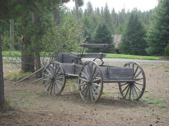 Bear Creek Lodge : Wagon