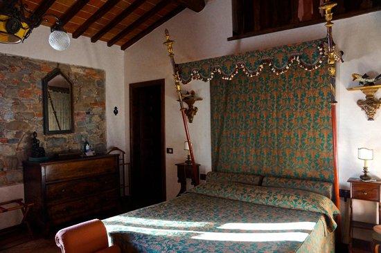 Castelletto di Montebenichi: deluxe room