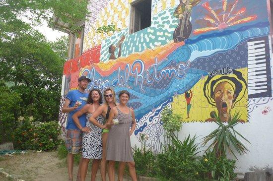 Playa del Ritmo, Beach Hostel & Bar : 4 Amigos