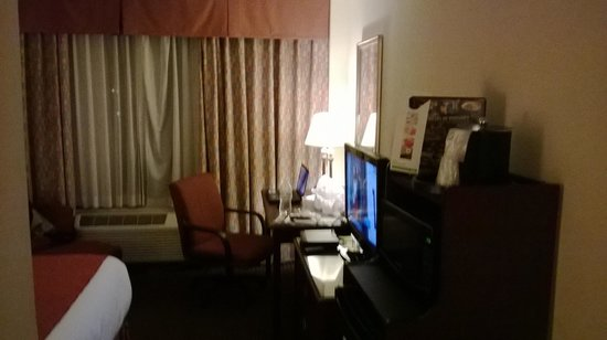 Holiday Inn Chicago O'Hare: TV and workdesk.
