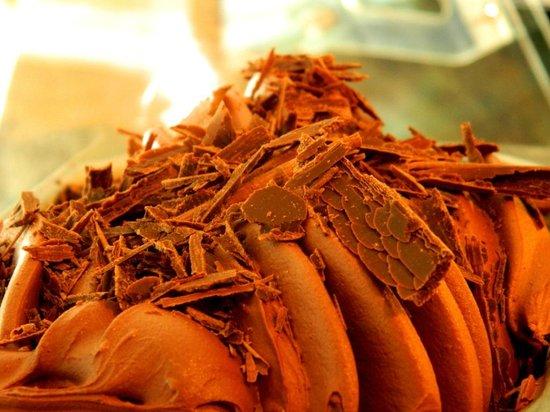 Gelatería Artesanal Aluén Patagonia: Chocolate Suizo