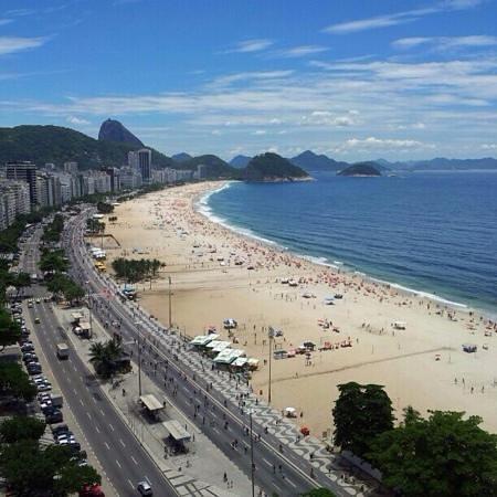 Pestana Rio Atlantica : vistas desde la piscina
