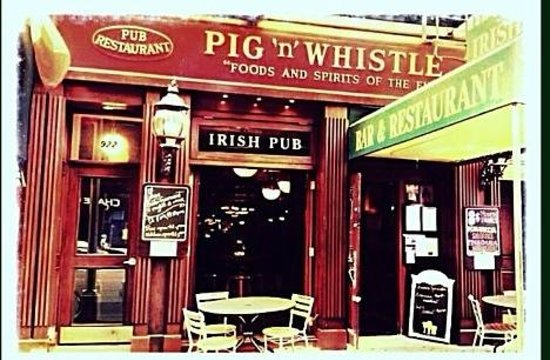 Pig'n Whistle On Third: Entrance