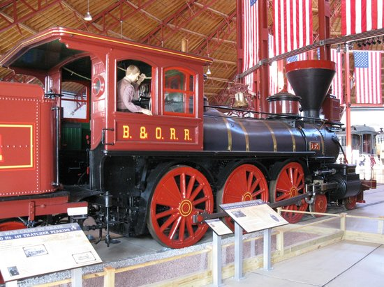 Baltimore and Ohio Railroad Museum: Civil War-era locomotive