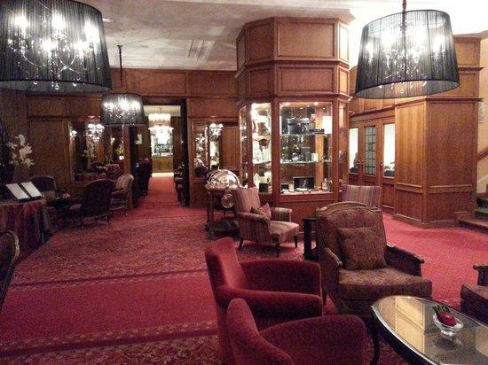Grand Hotel & SPA de Gerardmer: Intérieur Grand Hôtel