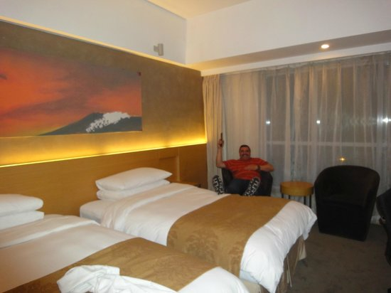 Hotel Jen Upper East Beijing(A Shangri-La Hotel): HABITACION MUY COMODA