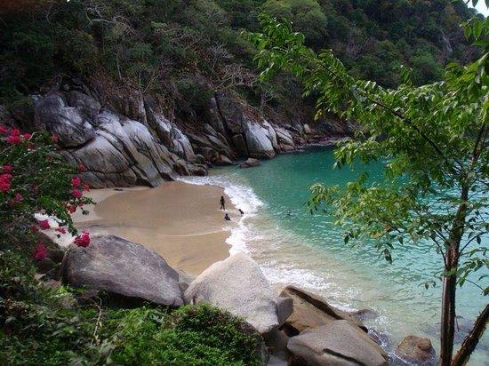 Ocean Grill Restaurant & Beach Club: Playa Colomitos