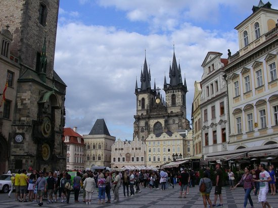 Grand Hotel Bohemia : 10 minute walk to Old Town and the astronomical clock