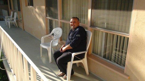 Cal Mar Hotel Suites: Утром на балконе