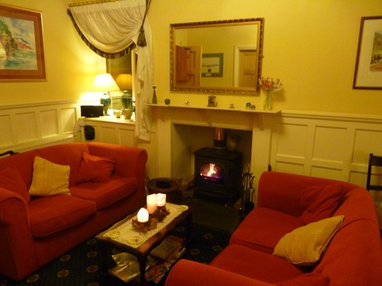 Red Bank : Guest Area with Log Fire