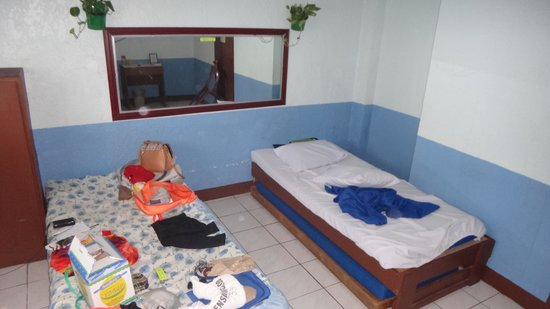 Pension Bacolod & Restaurant: This is how spacious their room is. To be fair, that is just a part since I wasn't able to captu