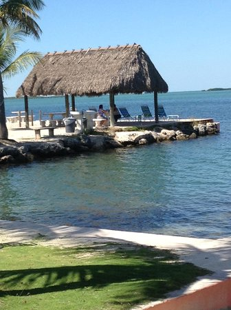 Rock Reef Resort: View from a hammock