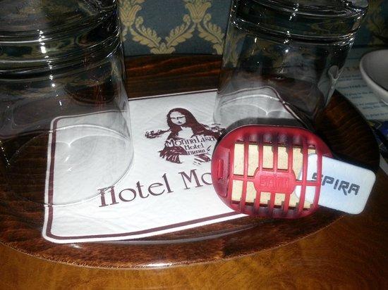 Hotel Monna Lisa : Occhio alle zanzare !