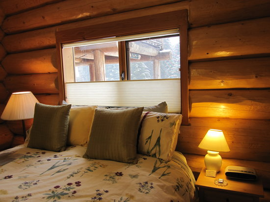 Log Spirit Bed and Breakfast: Spring Room