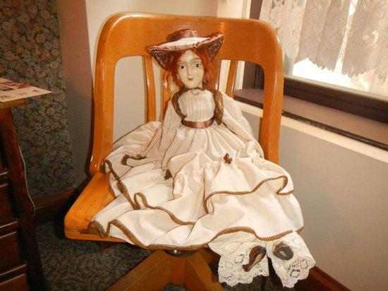"Karsten Hotel: ""Haunted"" doll in room 310"