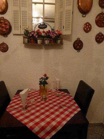 Osteria Stromboli: too cosy