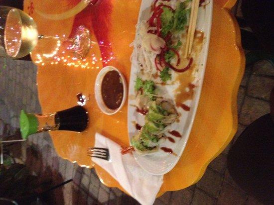 Malakor Thai Cafe: Ok sushi.