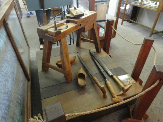 Hans Christian Andersen Museum: Tools For Making Wooden Shoes