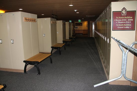 Grand Lodge on Peak 7 : Ski/Board Locker rooms