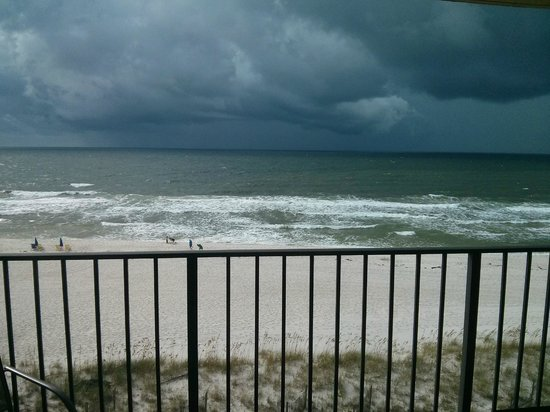 Ocean Breeze East : One of the storms we had.