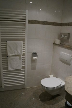 Tilman Riemenschneider Hotel : Another view of the bathroom