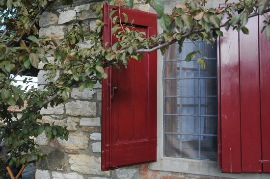Ancora del Chianti Eco BB & Art Retreat in Tuscany : Window to our room