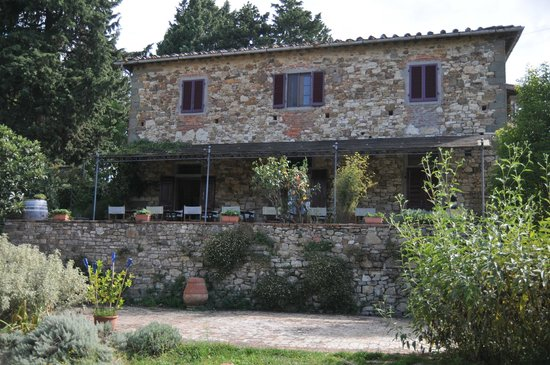 Ancora del Chianti Eco BB & Art Retreat in Tuscany : Main part of the farmhouse