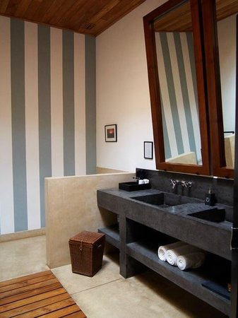 Garden Suite Bathroom With Terrazzo Vanity Picture Of The