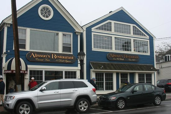 Exterior of Alisson's Restaurant