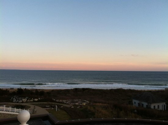 The Ocean House: This was our view! Can't beat it!