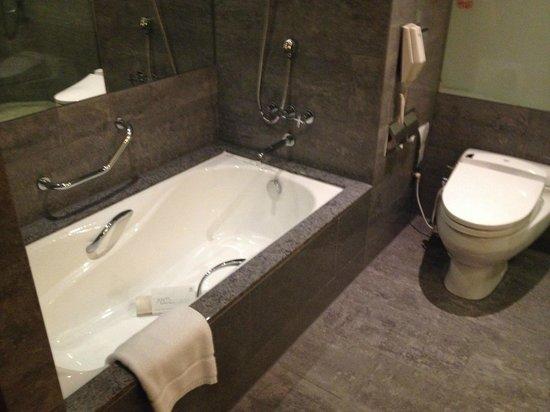 Sheraton Grand Taipei Hotel : 浴槽