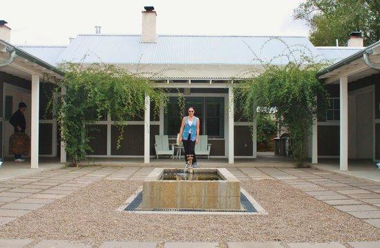 Los Poblanos Historic Inn & Organic Farm : Outside our room