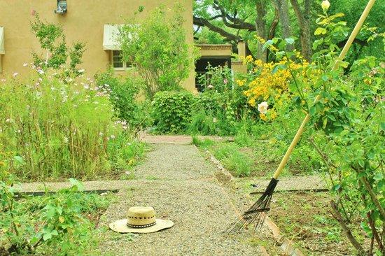 Los Poblanos Historic Inn & Organic Farm: One of the gardens
