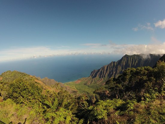 how to get to kalalau lookout