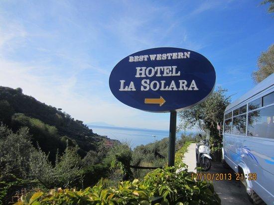 Best Western Hotel La Solara : Bel endroit!