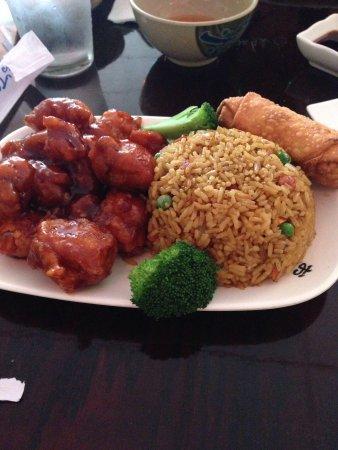 Asian Grill: General Tso Chicken