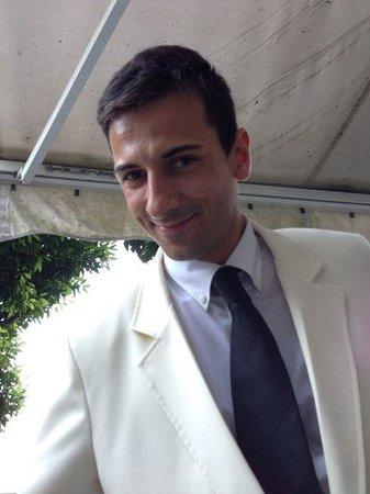 Hotel Belvedere: handsome and friendly waiter