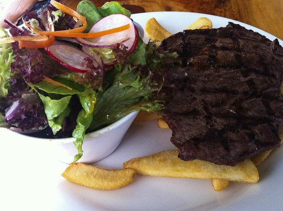 The Pear Tree: Steak - cooked as ordered