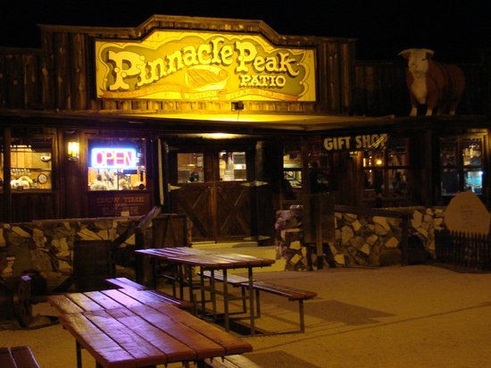 Wild West kitsch - Picture of Pinnacle Peak Patio Steakhouse ...