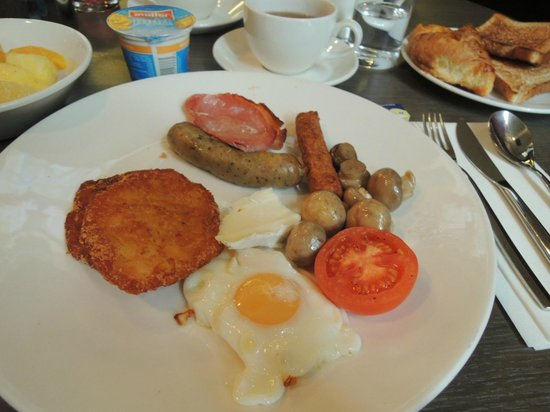 Novotel London City South : 朝食